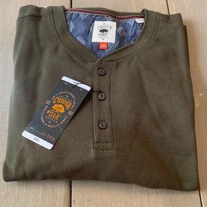 Copper & Oak Men's Long Sleeve Pullover XXL Olive